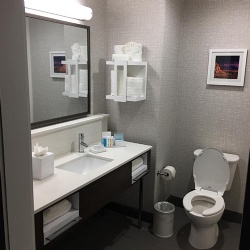 Hampton Inn and Suites Bath Vanities