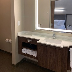 SpringHill Suites Bath Vanities