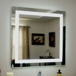 Front Lighted LED Backlit Bath Vanity Mirror